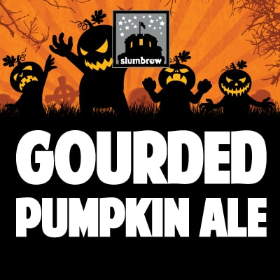 Get Your Pumpkins Beers at Slumbrew