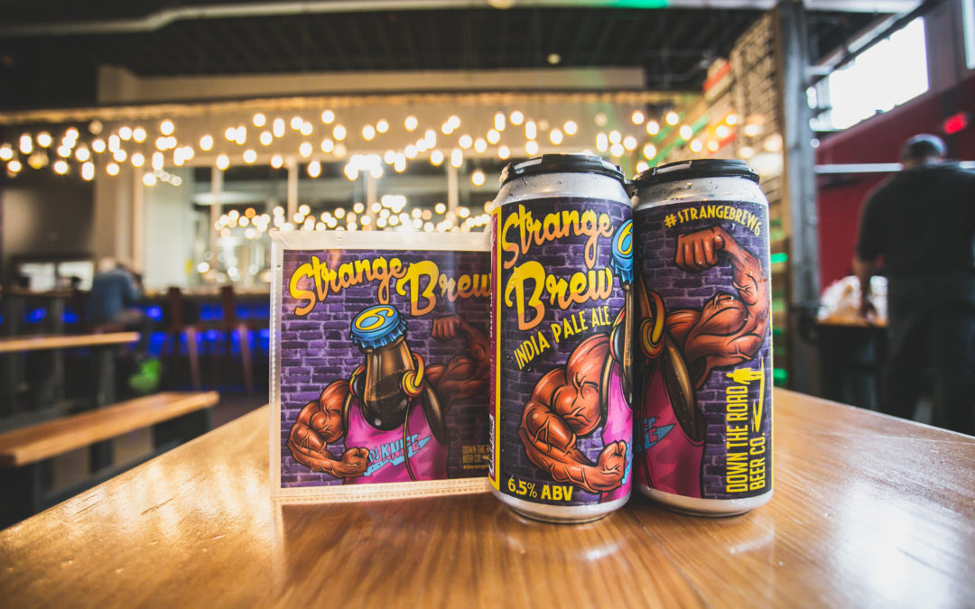 A one-of-a-kind partnership is currently brewing in Massachusetts between a DJ and Down The Road Beer Co.