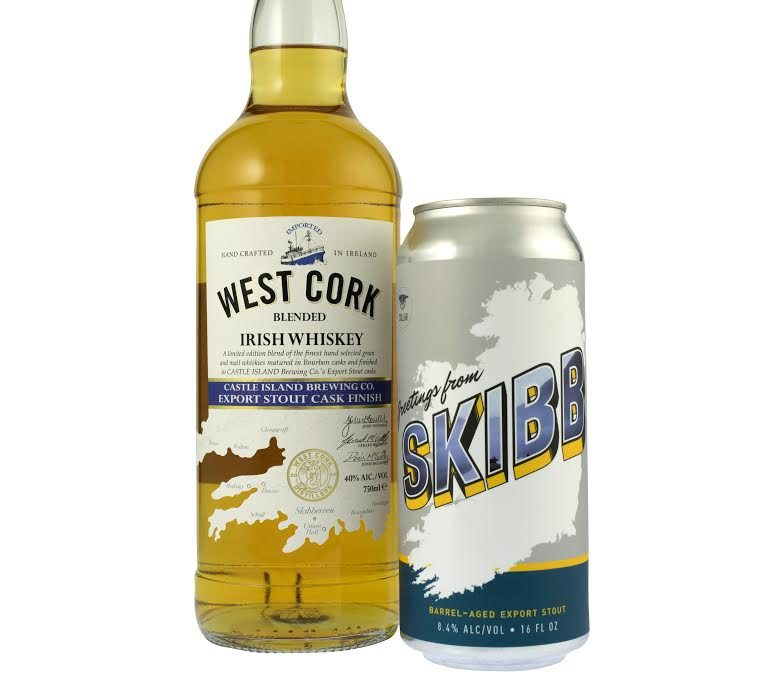 West Cork Distillers Launches Collaboration Whiskey with Castle Island Brewing Co.