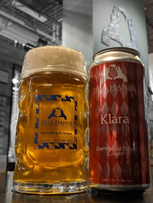 Idle Hands Releases Klara, their Dortmund Style Lager