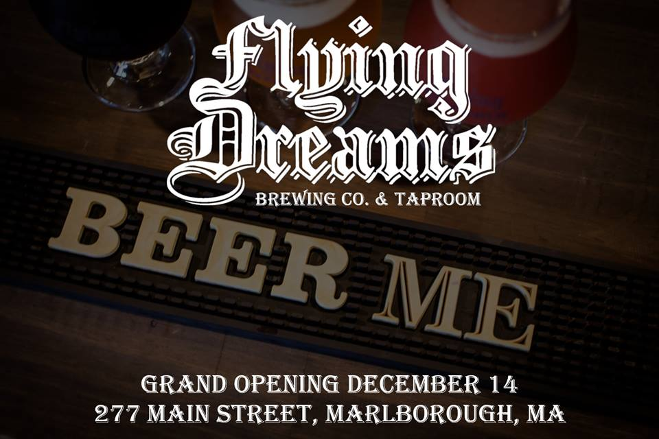 Flying Dreams Brewing to Debut New Marlborough Taproom This Friday