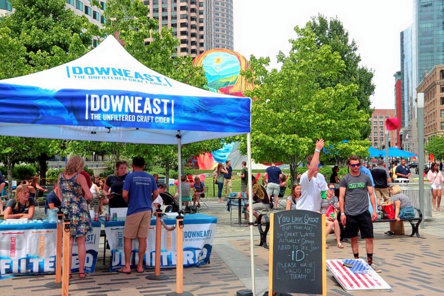 Greenway Dewey Square Drinkery Accepting Proposals for 2019 Pop-Up Seasonal Beer Garden Next to South Station