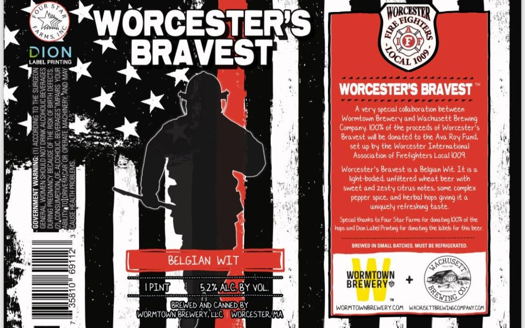 Worcester's Bravest Belgian Wit Release Day