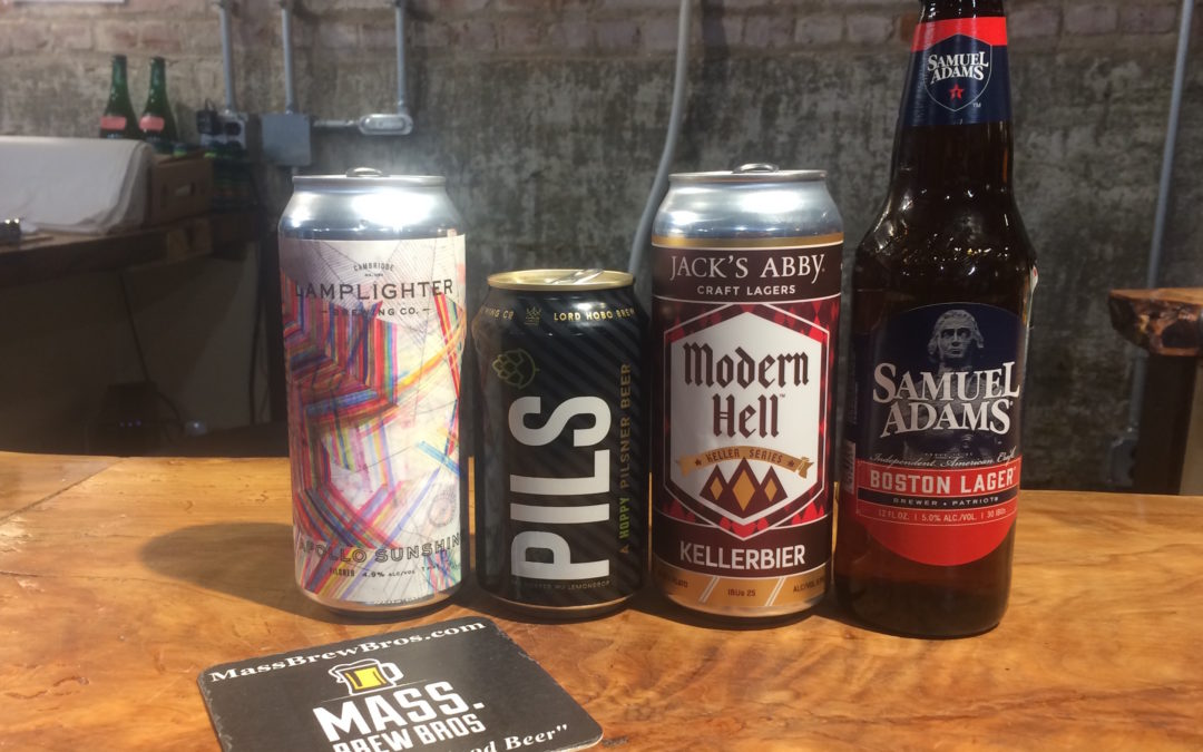Check Out The Results From Our Blind Taste Test of 12 Metro Boston Lagers