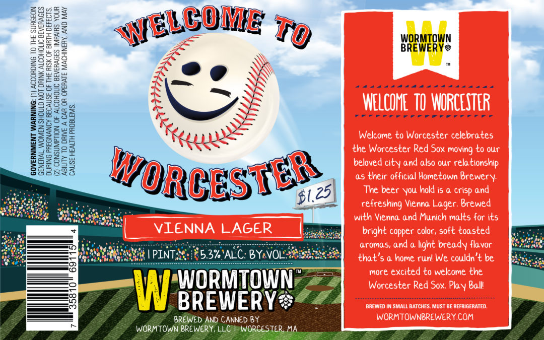 Wormtown Becomes Official Hometown Brewery of the Worcester Red Sox
