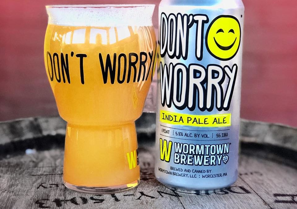 """Don't Worry,"" Wormtown's New East Coast IPA Begins Distribution Next Week"