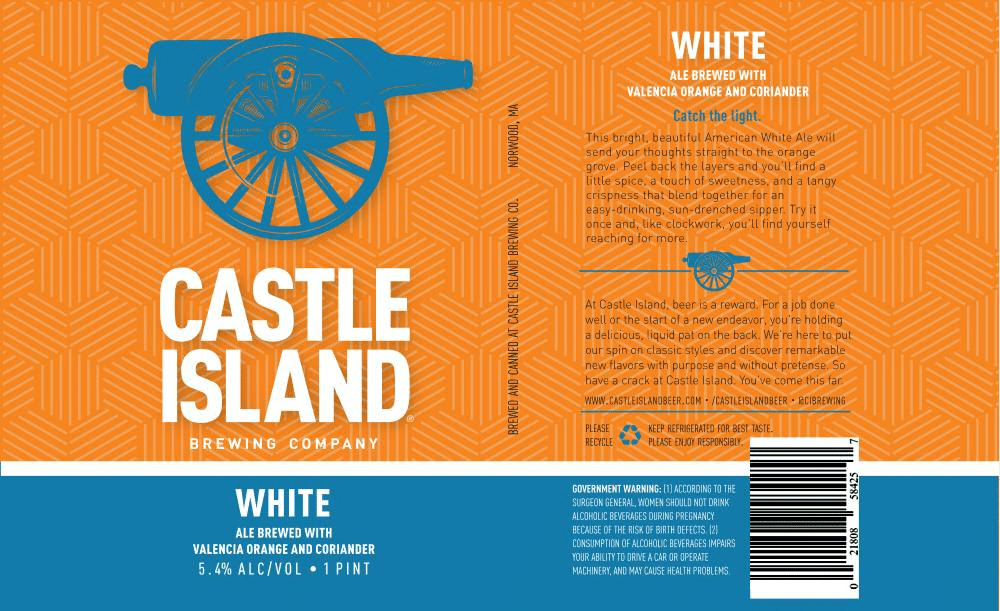 Castle Island White Ale Joins the Brewery's Core Lineup