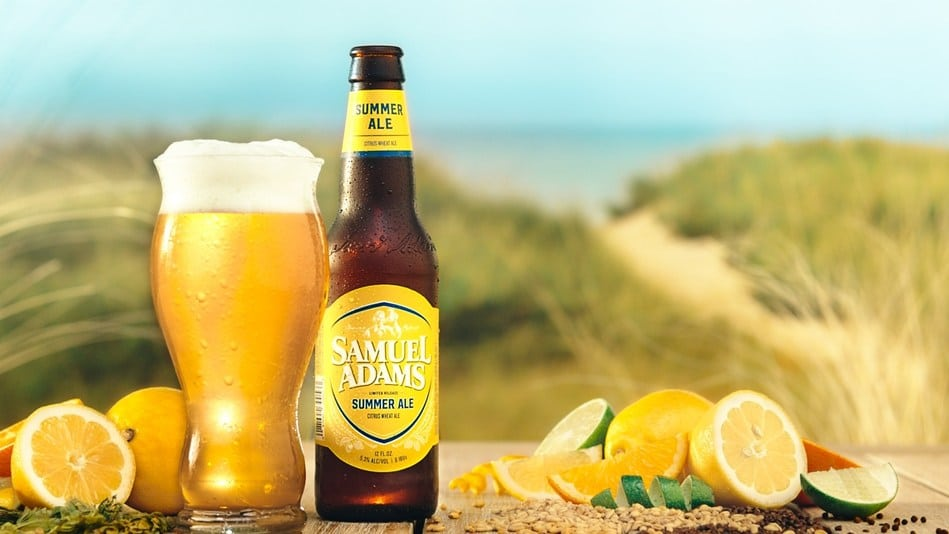 Outlook for a Lighter and Brighter Summer: Samuel Adams Releases New Summer Ale