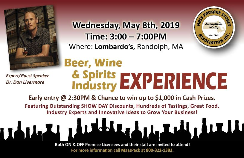 MPSA Beer, Wine & Spirits Industry EXPERIENCE on May 8th