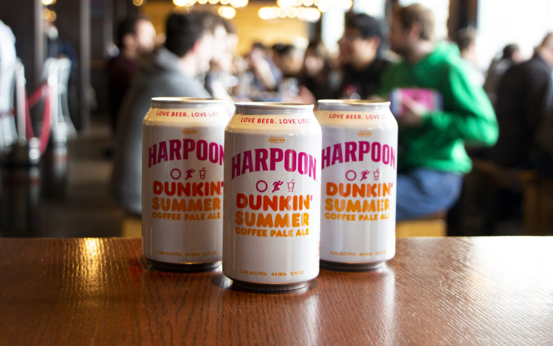 Dunkin' and Harpoon Reunite for New Harpoon Dunkin' Summer Coffee Pale Ale