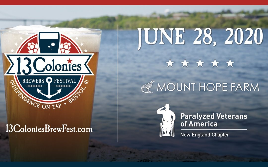 Raise Your Glasses Proudly: The Inaugural 13 Colonies Brewers Festival  Set To Pour June 28, 2020