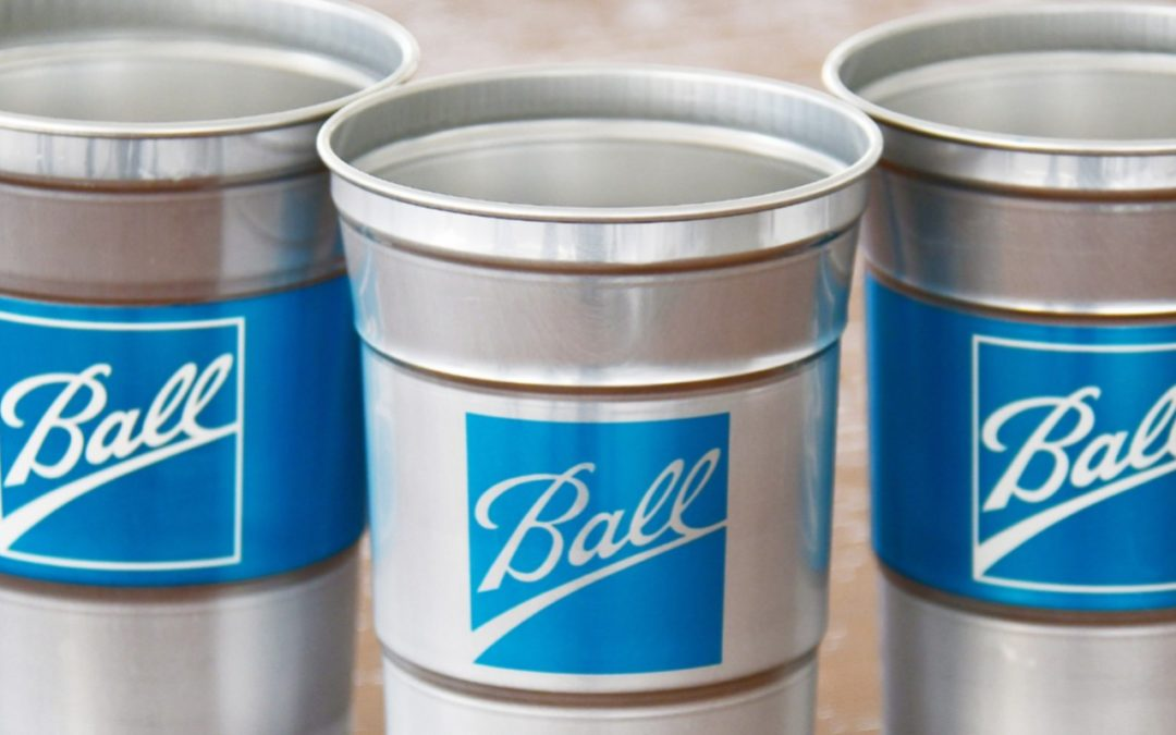 Ball Debuts First-Ever Aluminum Cup as Consumer Demand for Sustainable Packaging Grows