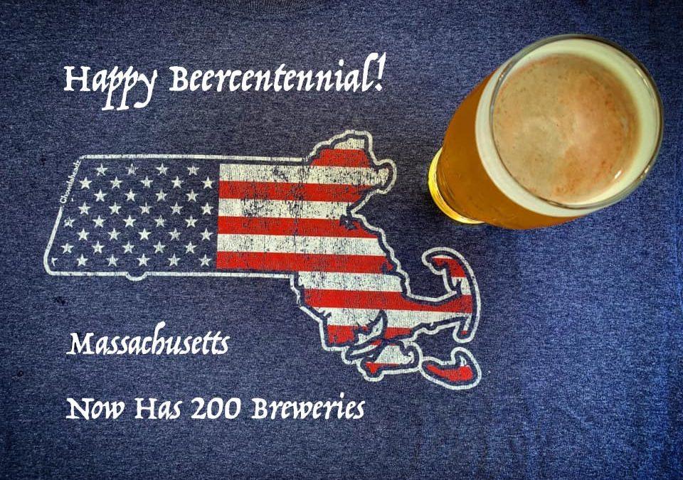 Happy Beercentennial! Massachusetts Now Has 200 Breweries