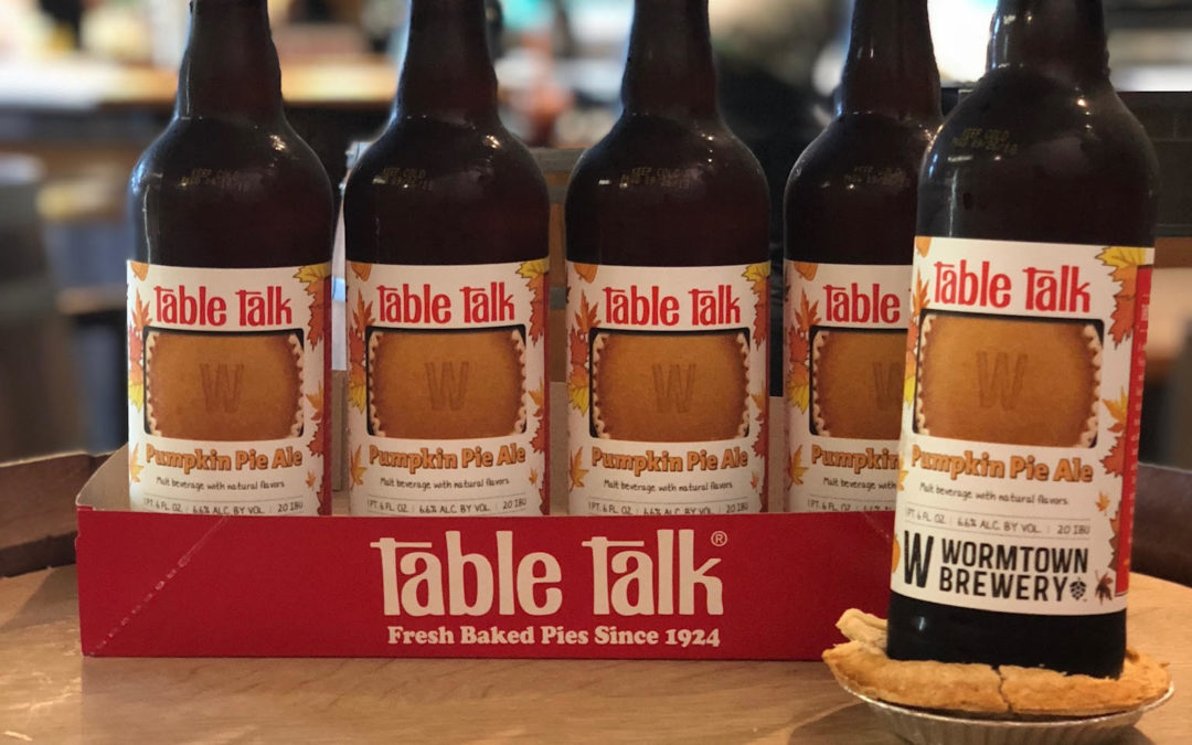 Wormtown Brewery and Table Talk Pie Join Forces Again