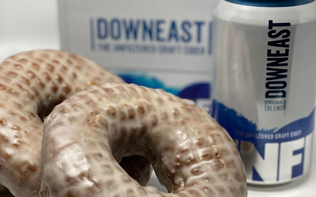 Kane's Donuts Releases Limited-Edition Flavors  Featuring Downeast Cider and Smuttynose Brewing Company Beer
