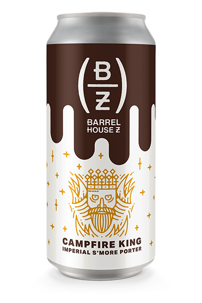 Barrel House Z Announces Its Newest Sweater-Weather Release:  Campfire King || Imperial S'More Porter 8.1%