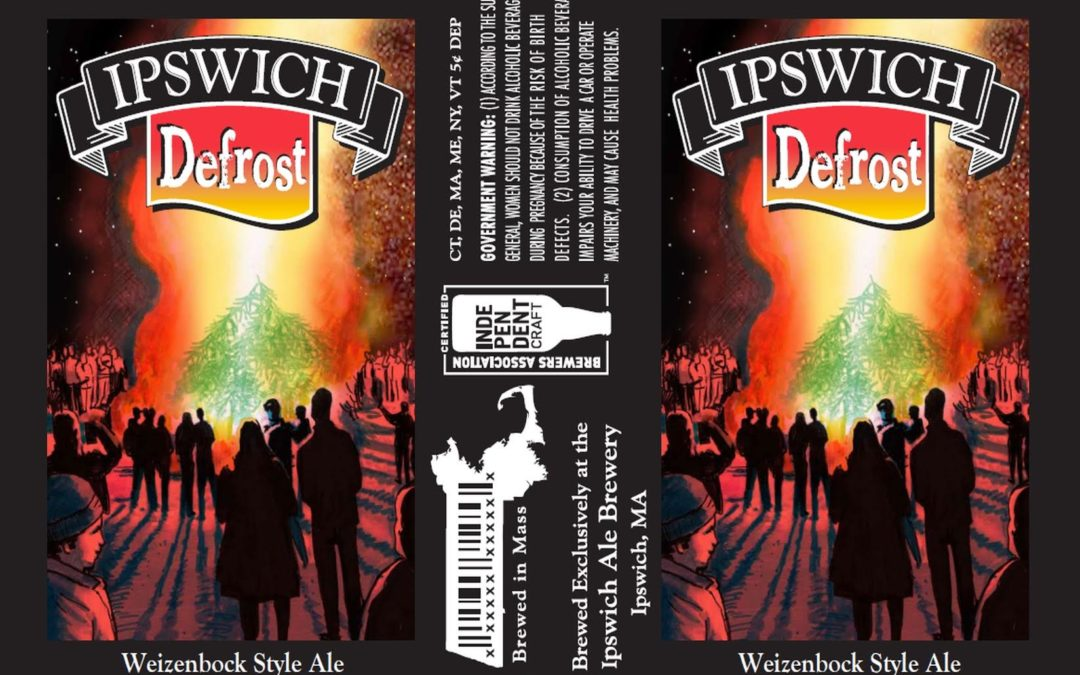 Ipswich Ale Brewery Releases Defrost, a German-Style Weizenbock