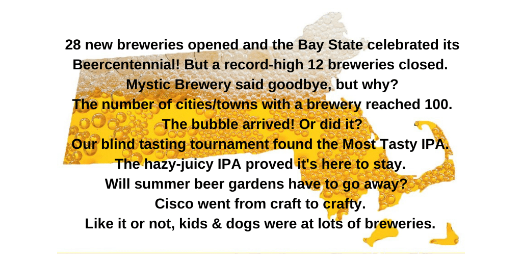 38 Things That Happened in Craft Beer, Around Here – 2019 in Review