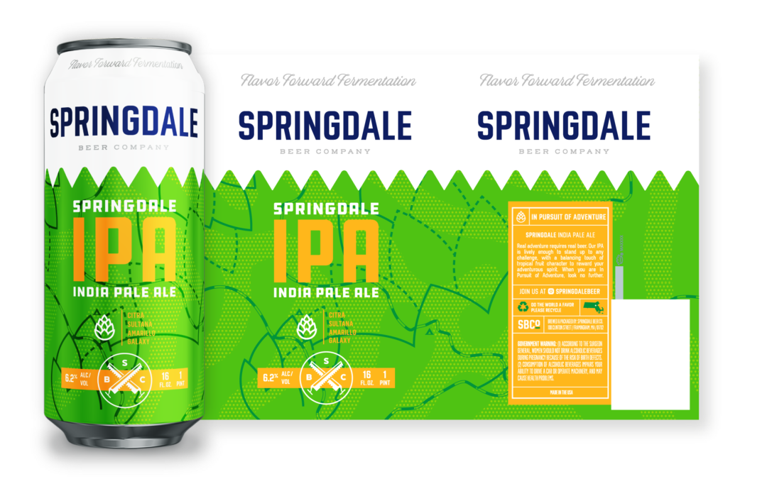Springdale Unveils New Brand Design and Beer Lineup