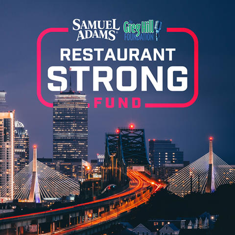 Samuel Adams and The Greg Hill Foundation join forces to support Massachusetts restaurant industry workers impacted by the Covid-19 closures