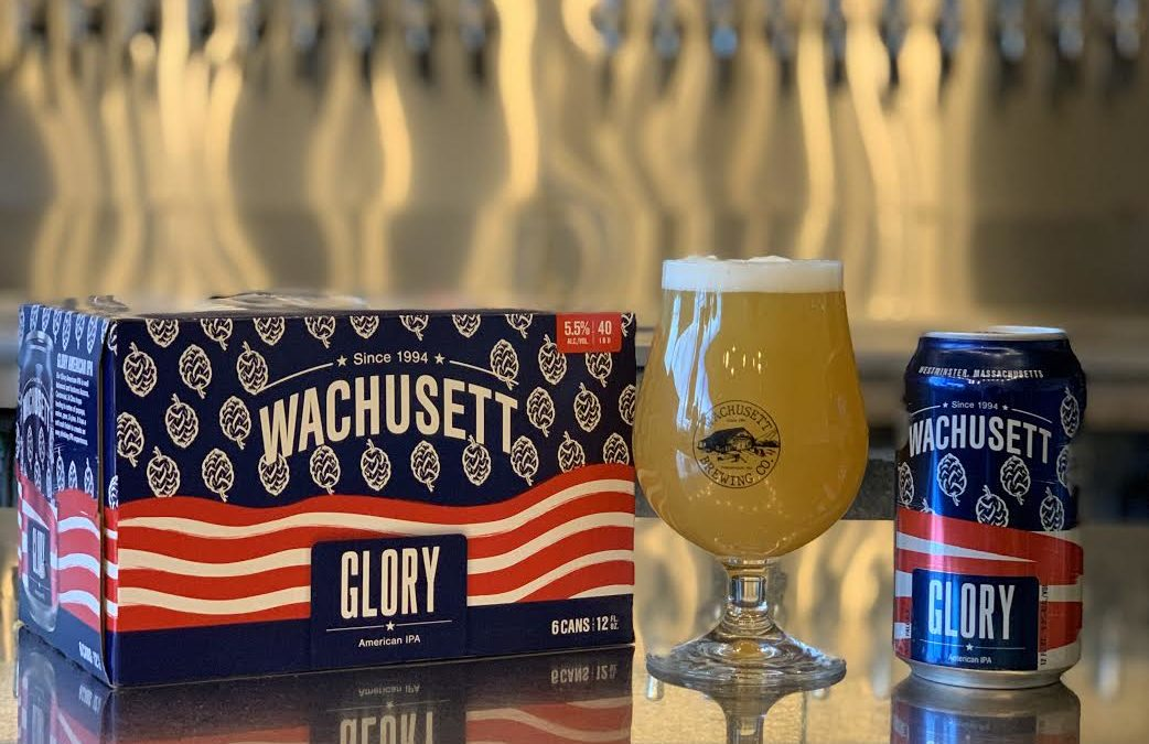 Wachusett Brewing Company and Atlas Distributing Launch Glory American IPA To Support Local United Way Charities