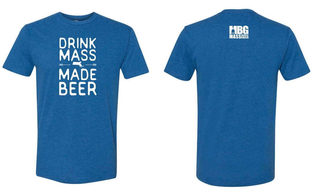 Support Massachusetts Brewers with a Drink Mass Made Beer T-Shirt