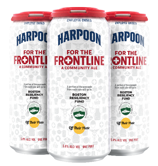 "Harpoon Brewery Releases ""For the Frontline"" Community Ale,  to Benefit COVID-19 Relief Efforts"