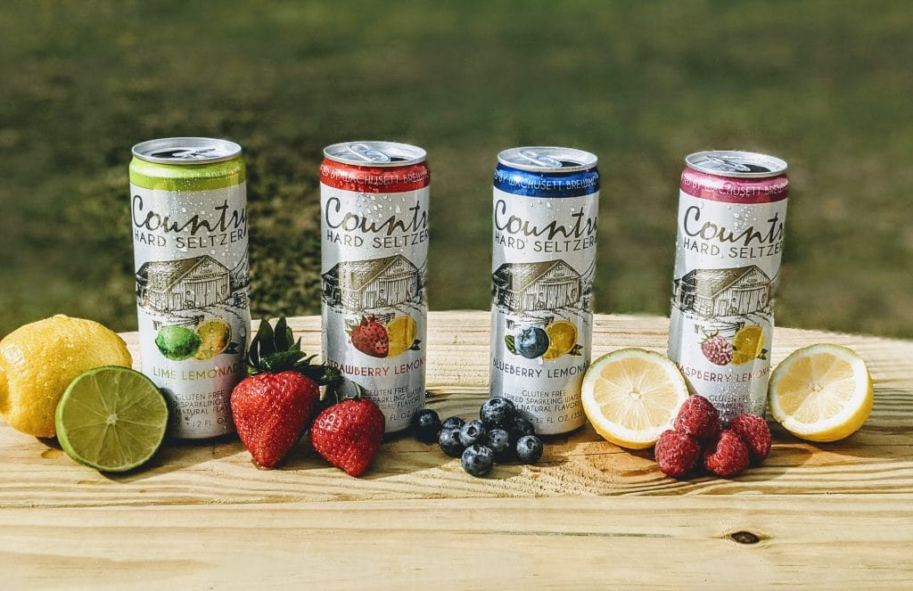 Wachusett Brewing Launches Country Hard Seltzer