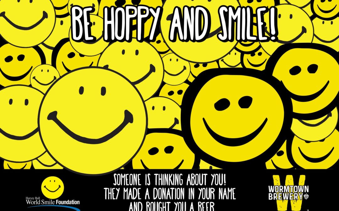 Wormtown Brewery and Harvey Ball World Smile Foundation Want to Share a Smile With You