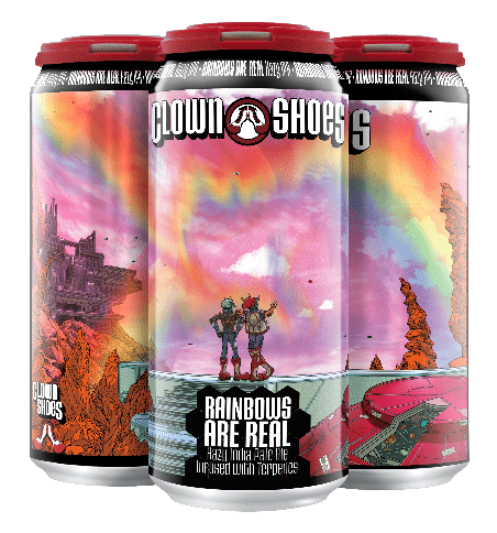 Clown Shoes Introduces Rainbows Are Real, A Hazy IPA Brewed With Terpenes