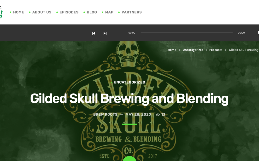 Brew Roots Podcast 117: Gilded Skull Brewing