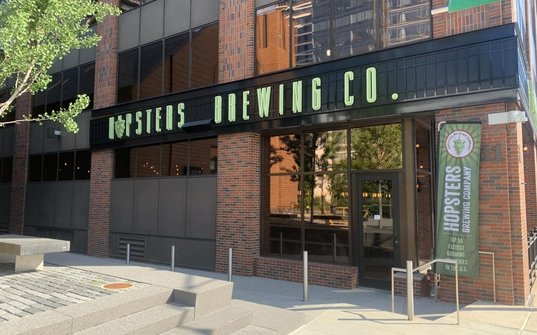 Hopsters Brewing Company Reopens Seaport with New Management Team, New Menu