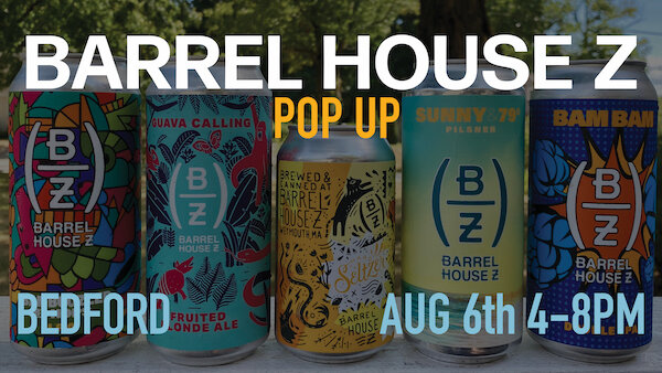 Barrel House Z Pop-Up in Bedford