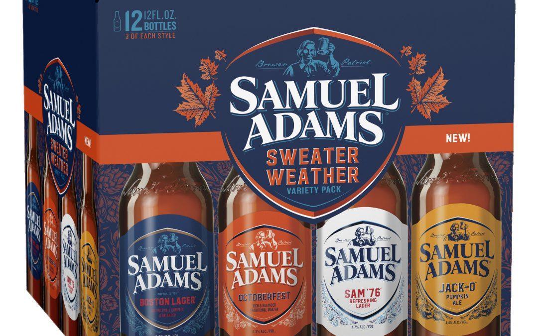 New from Sam Adams: Fall Seasonal Lineup