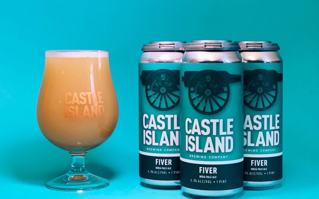 Castle Island Brewing Releases Fiver, An IPA Designed To Make A Difference