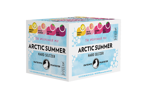 "To Reinforce Year-Round Enjoyment, Arctic Summer Hard Seltzer Rebrands to ""Arctic Chill"" with New Can Design"