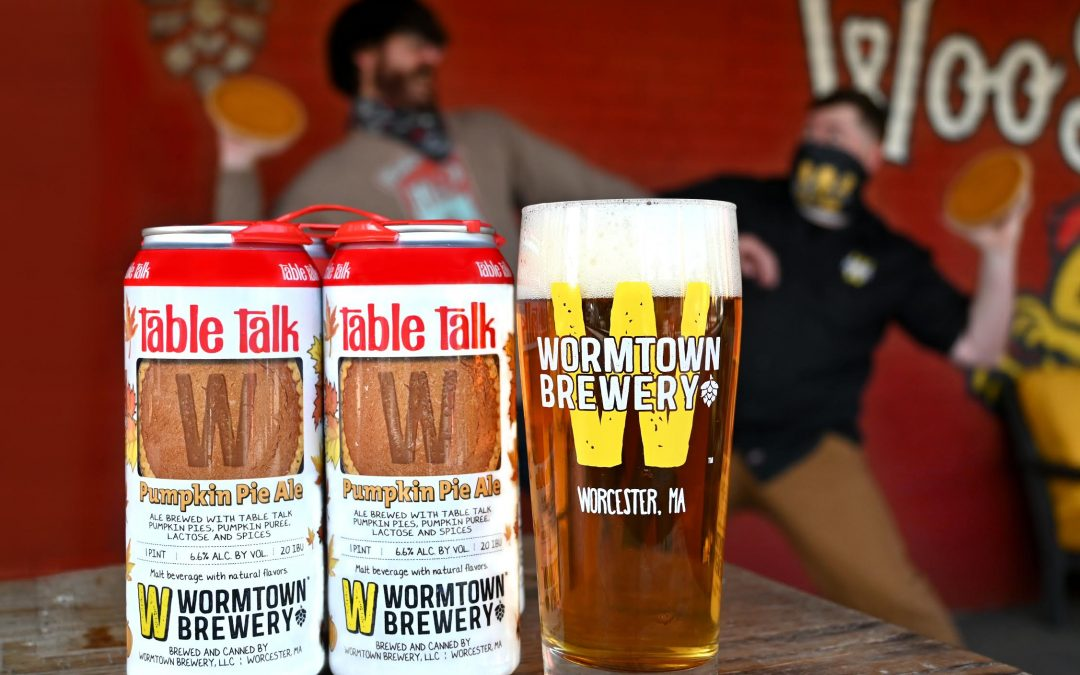 Wormtown Brewery and Table Talk Pie are at it Again