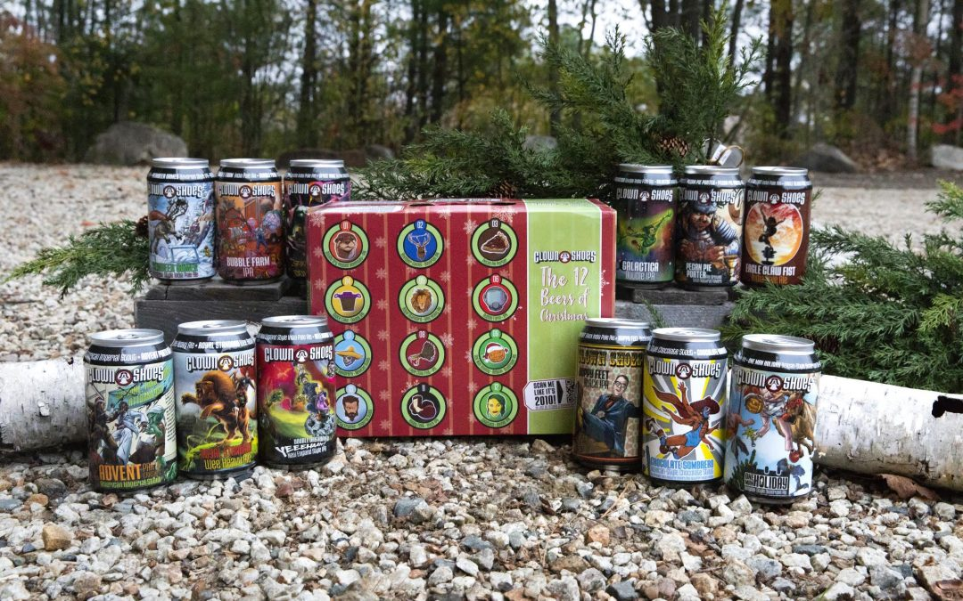 Clown Shoes Releases First-Ever Mix Pack, '12 Beers of Christmas,' Just in Time for the Holiday Season