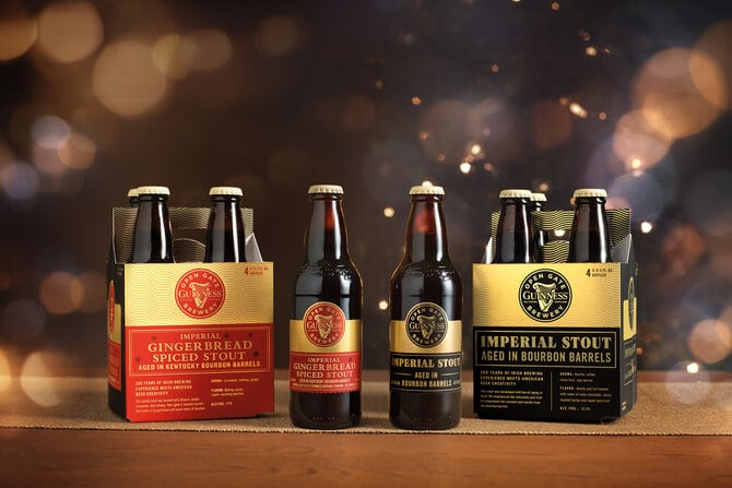 Guinness Releasing Gingerbread Spiced Stout and Imperial Stout