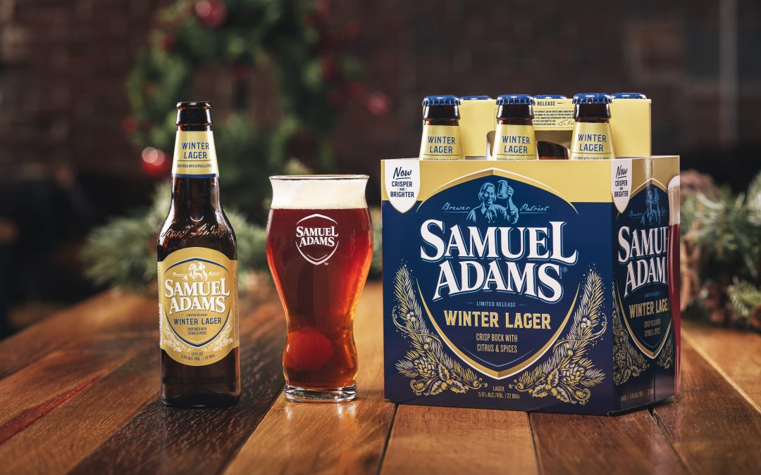 Samuel Adams' New Winter Lager Brings A Wintery Remix To Holiday Classics