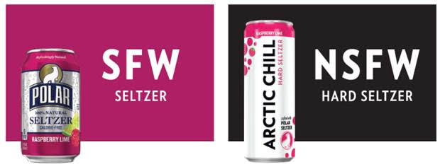 """Arctic Chill Hard Seltzer Releases SFW