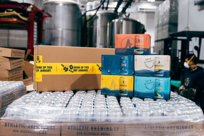 Athletic Brewing Co. Launches Dry January Survival Pack