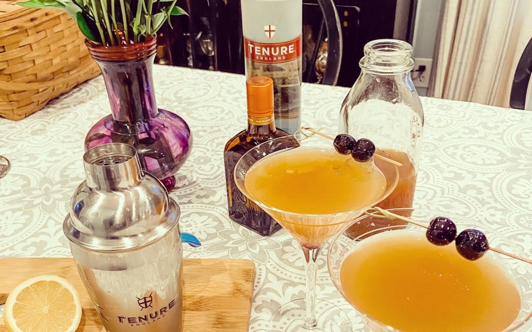 Tenure England Vodka Announces its Top List of Cocktails to Savor at Home this Holiday Season