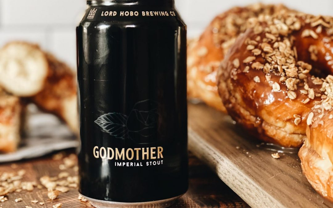 Kane's Donuts Releases Limited-Edition Seasonal Donut Using Lord Hobo Brewing Company's Godmother Imperial Stout