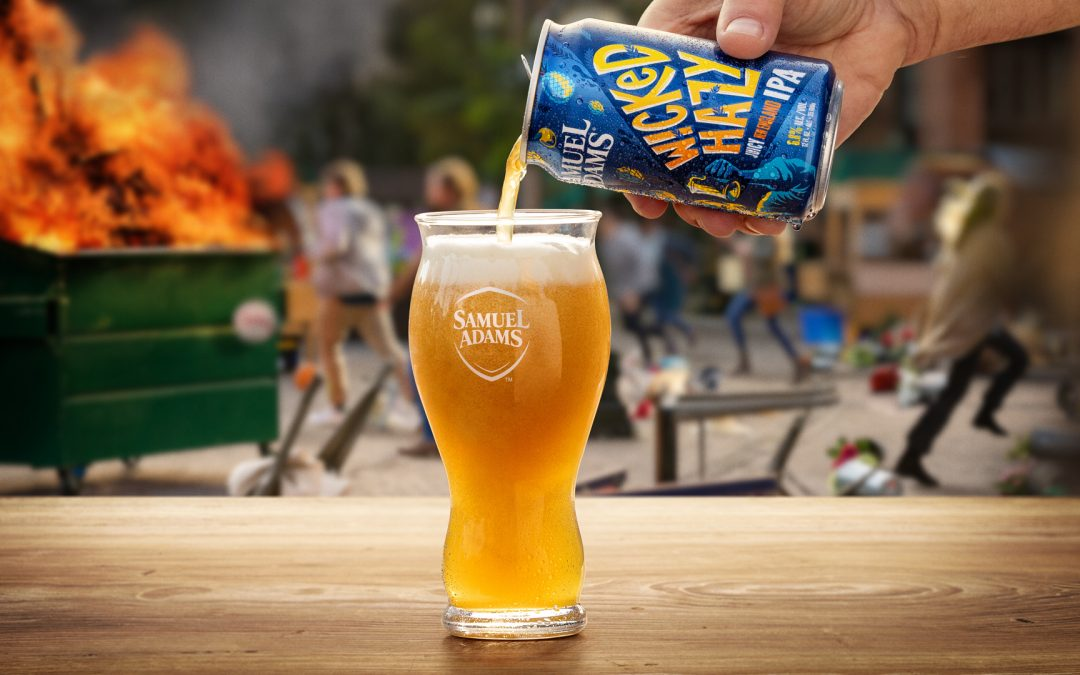 Sam Adams Releases Wicked Hazy IPA complete with a Super Bowl Ad
