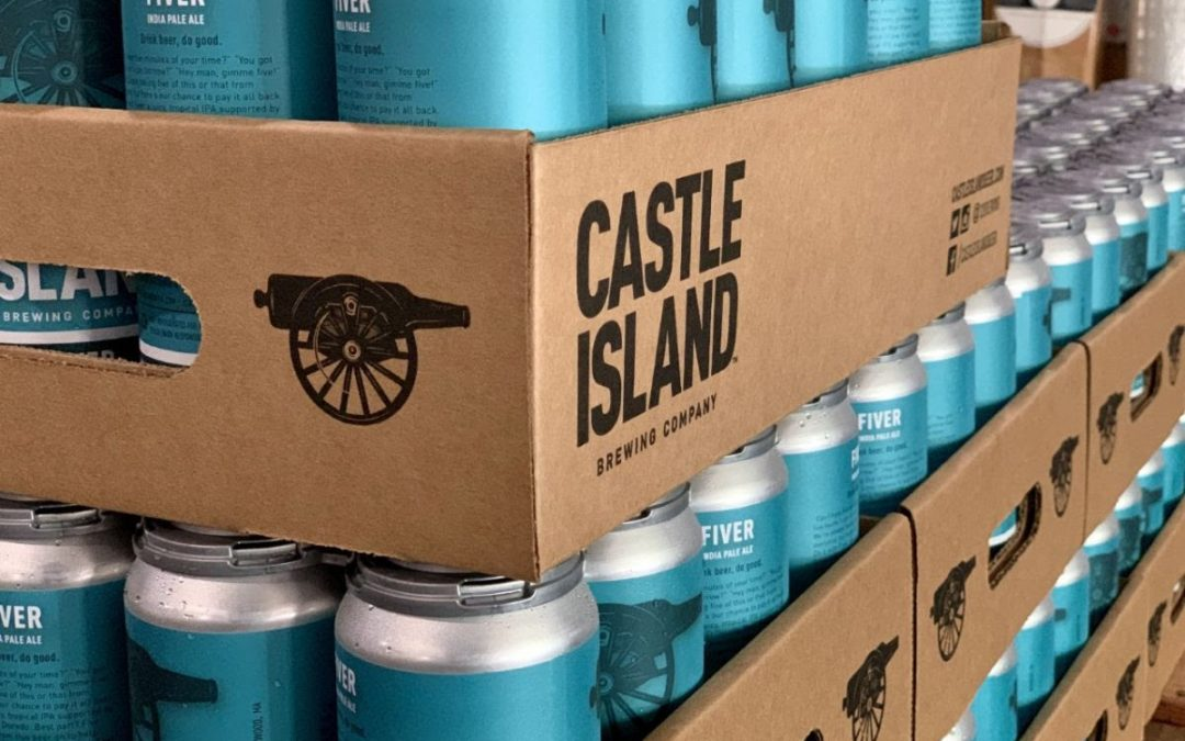 This Beer Gives Back: Castle Island Launches Fiver Initiative