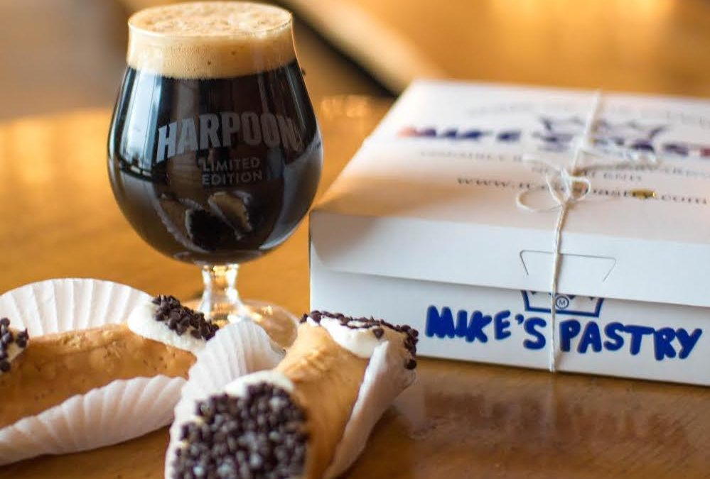 Harpoon Brewery And Mike's Pastry Are Back At It With Their Cannoli-Inspired Stout, Cannoli-Making Kits & An All-New Barrel-Aged Variant