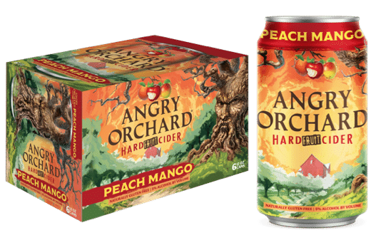Boston Beer Launches Angry Orchard Peach Mango and Strawberry Fruit Ciders