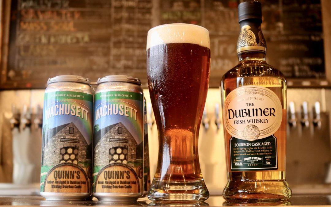 Dubliner Irish Whiskey Launches Wachusett Beer Barrel Aged Edition