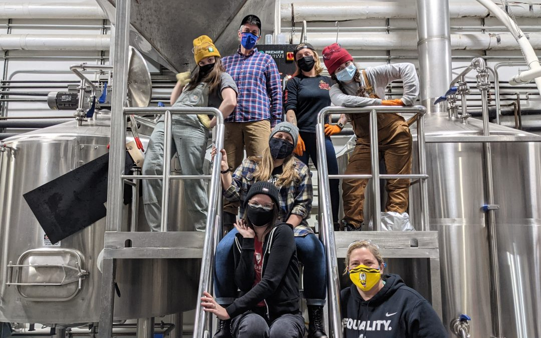 Exhibit 'A' Brewing Presents Uh Huh Honey IPA to Benefit Pink Boots Foundation